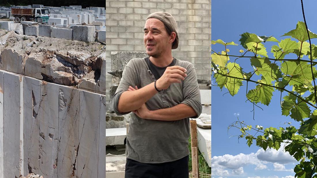 LA PIETRA FA IL SUO GIRO | Passeggiata fra sentieri, scultori, vino, olio e storia di Aurisina